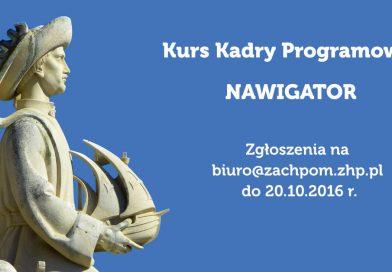 """Kurs kadry programowej """"Nawigator"""""""