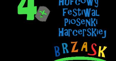 Rozpoczynamy przygotowania do 4. Hufcowego Festiwalu Piosenki Harcerskiej BRZASK 2017