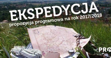 EKSPEDYCJA propozycja programowa na rok 2017/2018
