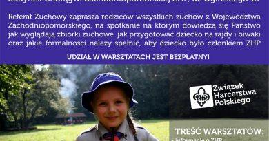Warsztaty dla rodziców wszystkich Zuchów!